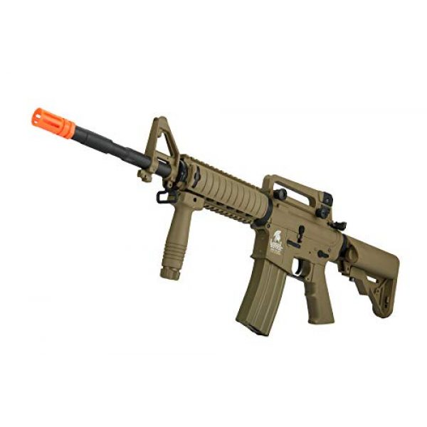 Lancer Tactical Airsoft Rifle 4 Lancer Tactical Gen 2 M4 RIS LT-04T Airsoft Gun AEG Rifle Dark Earth