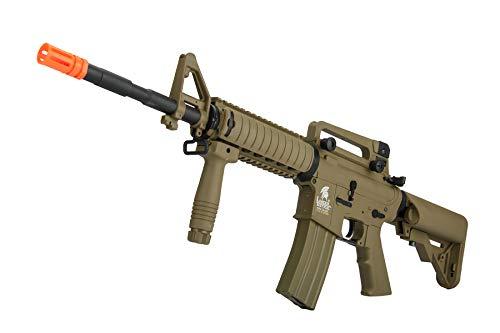 Lancer Tactical  4 Lancer Tactical Gen 2 M4 RIS LT-04T Airsoft Gun AEG Rifle Dark Earth