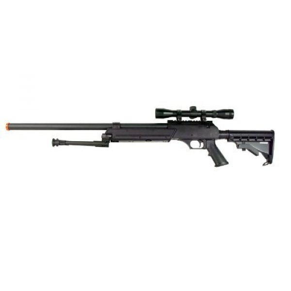 Well Airsoft Rifle 2 Well MB06 SR-2 Tactical Airsoft Sniper Rifle w/ 3-9x40 Scope & Bipod Bolt Action Airsoft Sniper