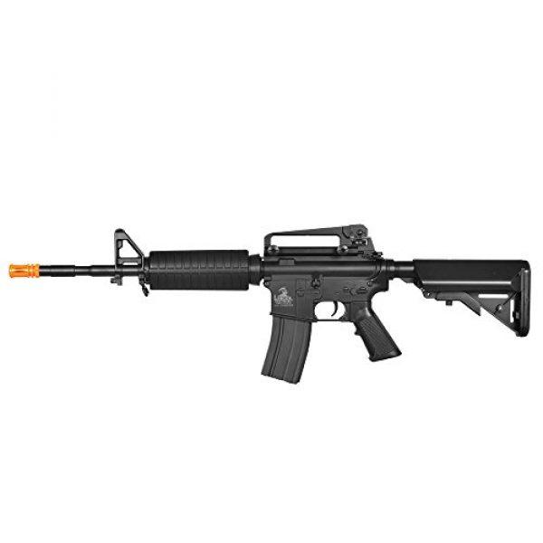 Lancer Tactical Airsoft Rifle 2 Lancer Tactical LT-03B CRANE STOCK M4 AEG METAL GEAR (Color BLACK)