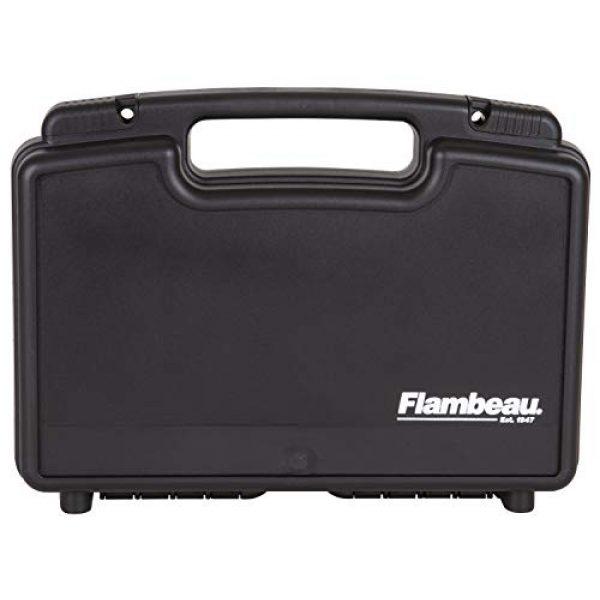 "Flambeau Outdoors Pistol Case 1 Flambeau Outdoors 1411 Safe Shot 14"" Pistol Pack Case, Portable Firearm Storage Accessory"
