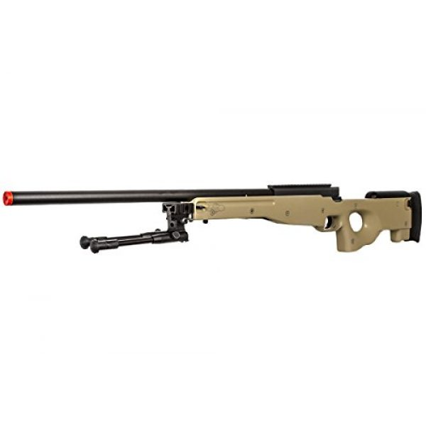 Well Airsoft Rifle 3 Well Airgunplace Type 96 AWP Bolt Action Airsoft Tan Color Sniper Rifle