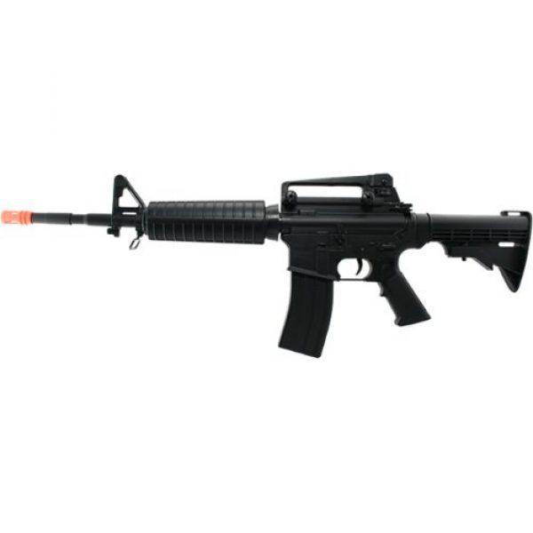 Fire Power Airsoft Rifle 1 firepower f4 airsoft aeg, black(Airsoft Gun)