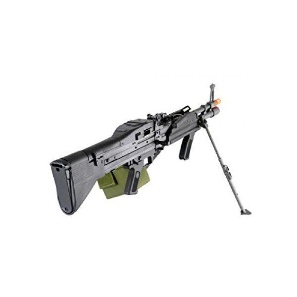 GLORYFIRE Airsoft Rifle 5 GLORYFIRE MK43 AEG Metal Gear Full Metal Body Integrated Bipod