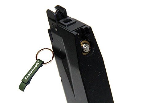WE  2 WE 26rds Airsoft Gas Magazine For F228 / F229 Series GBB Black -Mobile Ring Included