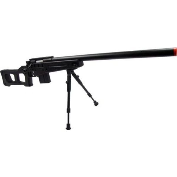 Prima USA Airsoft Rifle 1 well mb4408b bolt action spring airsoft sniper rifle with bipod 390 fps(Airsoft Gun)
