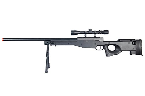 Well  1 Well Airgunplace MB01 High Powered Pro Airsoft Sniper Rifle L96 Style