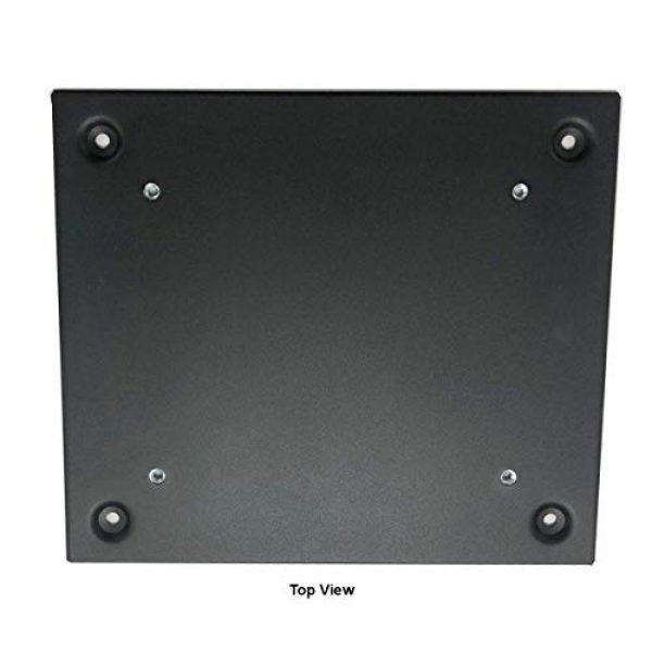 V-Line Pistol Case 2 V-Line Slide-Away Mounting Bracket, Semi-Flat Black (10123-MB FBLK)