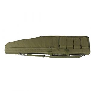 Sunny  1 Outdoor Sports Gear Tactical Assault Combat Camouflage Rifle Gun Case Cover Shooting Hunting Fishing Pack Tactical Airsoft Gun Long Bag - Green - 120cm