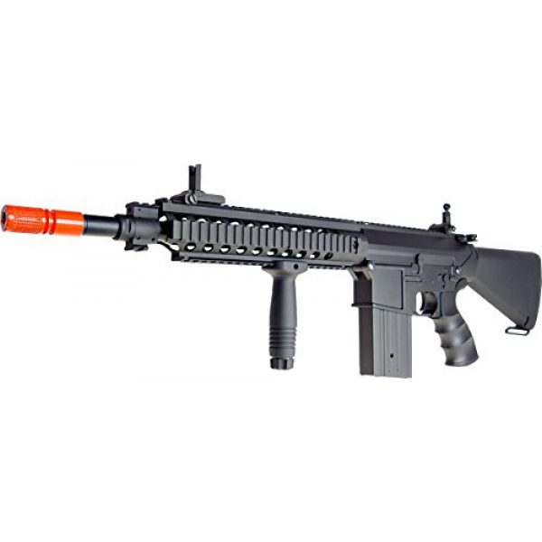 Jing Gong (JG) Airsoft Rifle 2 JG aeg-full metalsr25 full stock nicads/charger included-metal g-bx(Airsoft Gun)