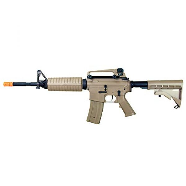 MetalTac Airsoft Rifle 4 MetalTac Electric Airsoft Gun with Metal Gearbox Version 2, Full Auto AEG, Powerful Spring 370 Fps with .20g BBS