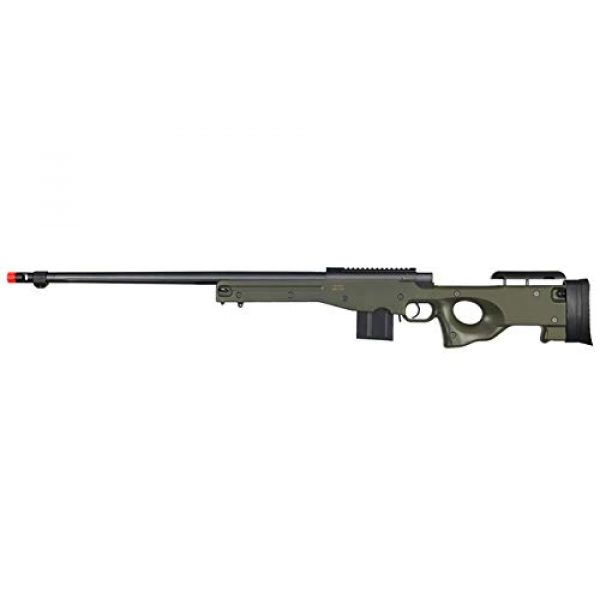 Well Airsoft Rifle 1 Well MB4402 Airsoft Sinper Rifle - OD Green