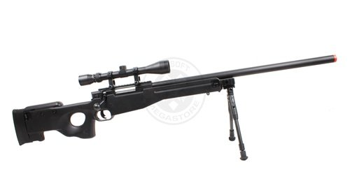 Well  4 Wellfire mk96 bolt action awp sniper rifle w/ 3-9x40 scope and bipod(Airsoft Gun)