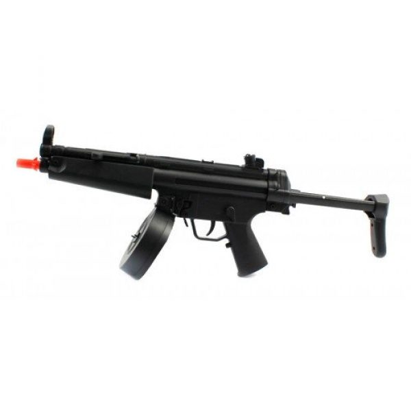 M16 Airsoft Guns Airsoft Rifle 2 electric aeg well fps-275 d95b airsoft rifle with drum magazine, collapsible stock fully automatic(Airsoft Gun)