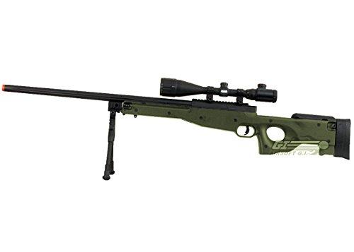 Bravo!  2 Bravo Full Metal MK98 Bolt Action Sniper Rifle (OD/Bipod Package)