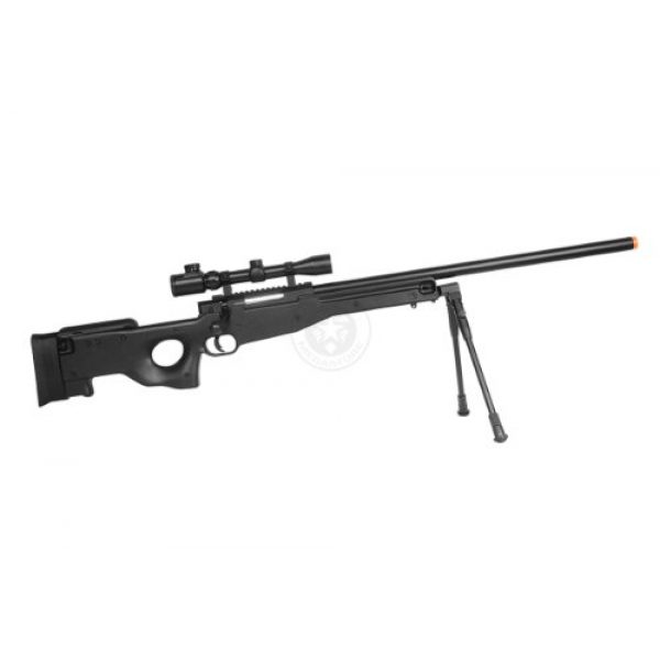 Well Airsoft Rifle 4 de airsoft shadow ops mk96 bolt action sniper rifle w/ bipod and scope(Airsoft Gun)