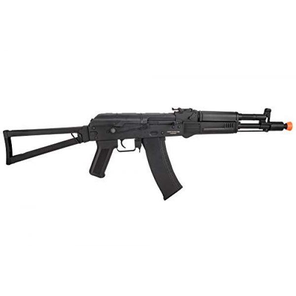 Lancer Tactical Airsoft Rifle 2 Lancer Tactical AK-Series AKS-105 AEG Airsoft Rifle with Skeleton Foldable Stock Black