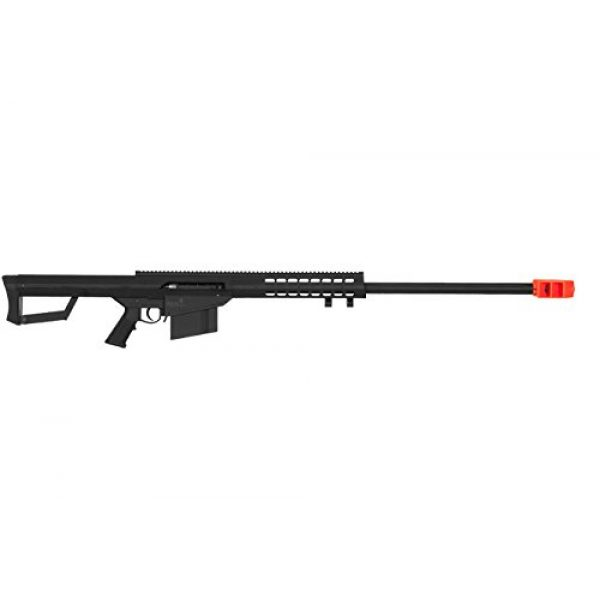 Lancer Tactical Airsoft Rifle 1 Lancer Tactical LT-20B M82 Polymer Spring Powered Airsoft Sniper Rifle - Black