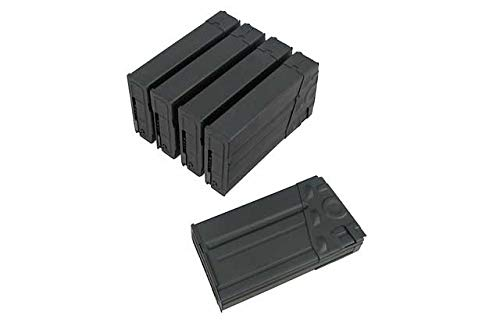 King Arms  1 King Arms 500rds Magazine for Tokyo Marui G3 Box Set 5pcs (for Airsoft Toys Only)