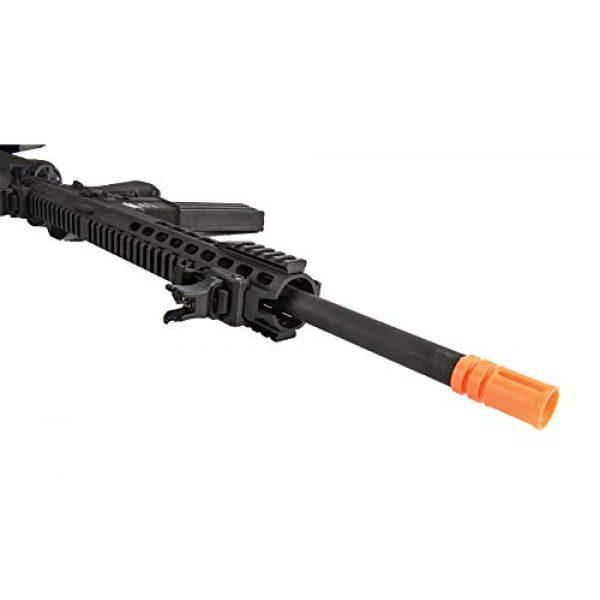 "Lancer Tactical Airsoft Rifle 7 Lancer Tactical LT-19BL-G2-M Gen 2 Airsoft M4 Carbine 10"" AEG Rifle Black"