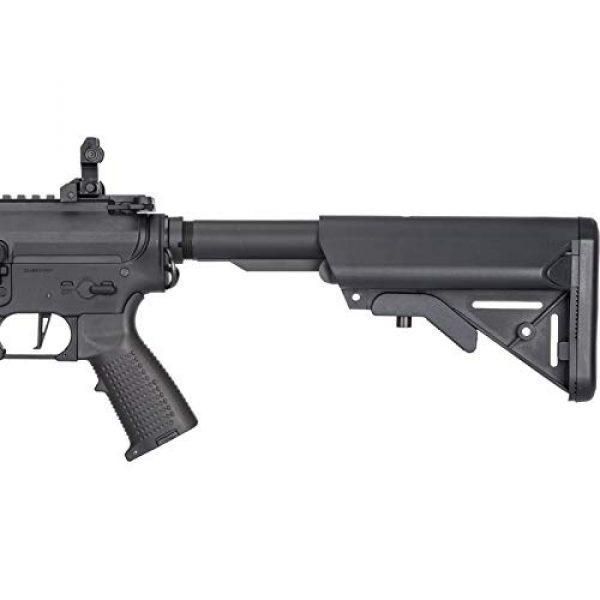 Lancer Tactical Airsoft Rifle 3 Lancer Tactical Classic Army Skirmish Series ML10 M4 M-LOK AEG Airsoft Rifle Black 350 FPS