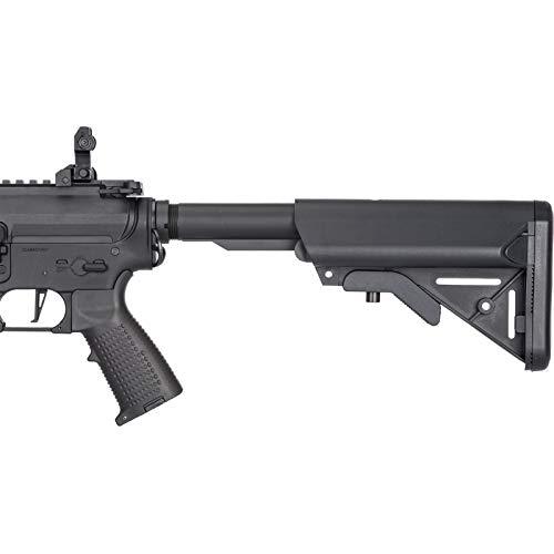 Lancer Tactical  3 Lancer Tactical Classic Army Skirmish Series ML10 M4 M-LOK AEG Airsoft Rifle Black 350 FPS