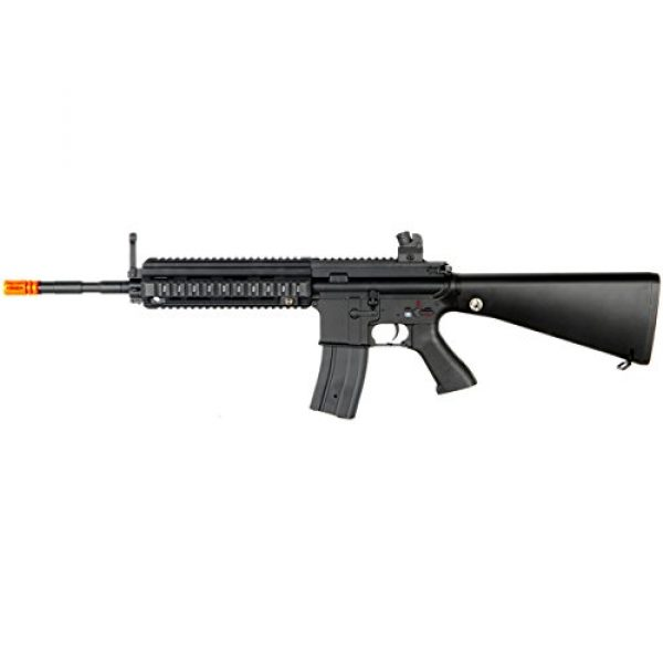MetalTac Airsoft Rifle 1 MetalTac JG FB-6623 614 Electric Airsoft Gun with Rail Mounting System, Full Metal Body, Metal Gearbox Version 2, Auto AEG, Upgraded Powerful Spring 410 Fps with .20g BBS