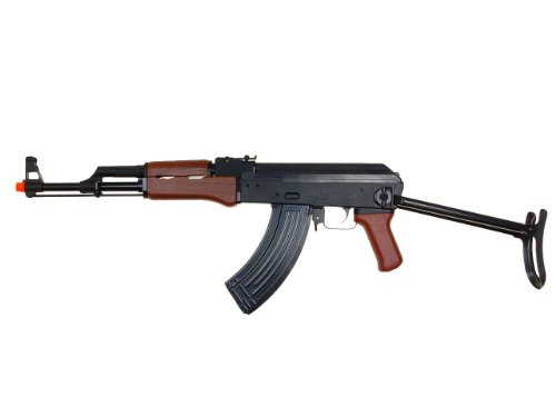 SRC  1 src aeg-a7 folding semi/full auto nimah/charger included-metal gb(Airsoft Gun)