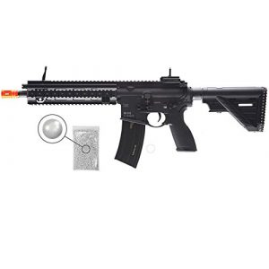 Wearable4U Airsoft Rifle 1 Umarex Elite Force HK Heckler & Koch 416 A5 AEG Electric Automatic 6mm BB Rifle Airsoft Gun with Wearable4U Bundle