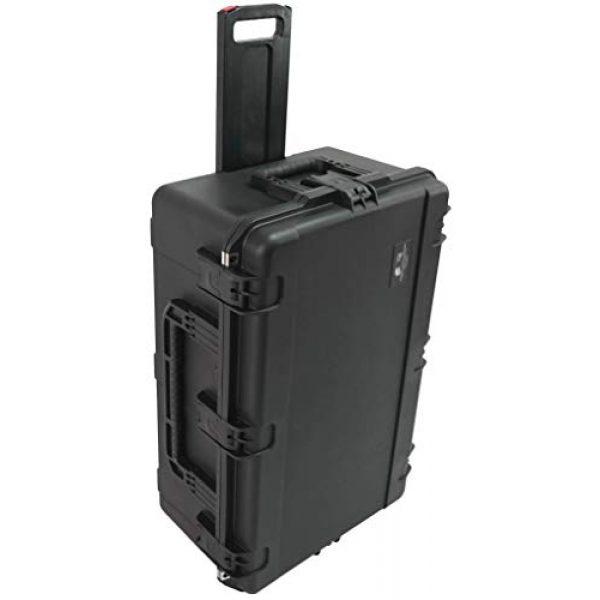 Case Club Pistol Case 6 Case Club 32 Pistol Pre-Cut Waterproof Case with x2 Silica Gel to Help Prevent Gun Rust