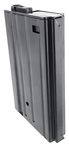 SportPro  4 SportPro 420 Round Metal High Capacity Magazine for AEG SR25 Airsoft - Black