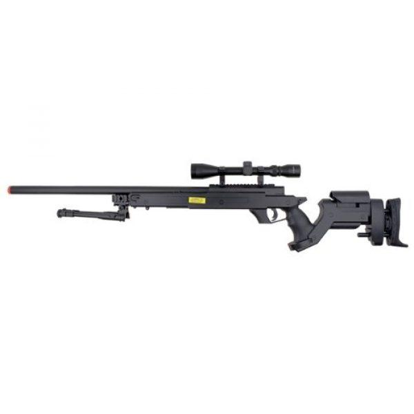 Well Airsoft Rifle 2 Well awn aps2 spring sniper airsoft rifle w/ bi-pod & scope(Airsoft Gun)