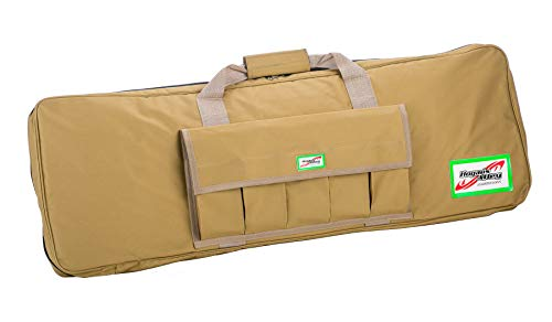 "Hogan's Alley Paintball  1 Hogan's Alley 36"" Single Gun Bag for Airsoft AEGs and Paintball Guns - Tan"