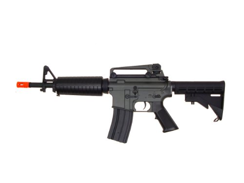 Jing Gong (JG)  1 JG aeg-m733/retractable stock nicads/charger included-metal g-bx(Airsoft Gun)