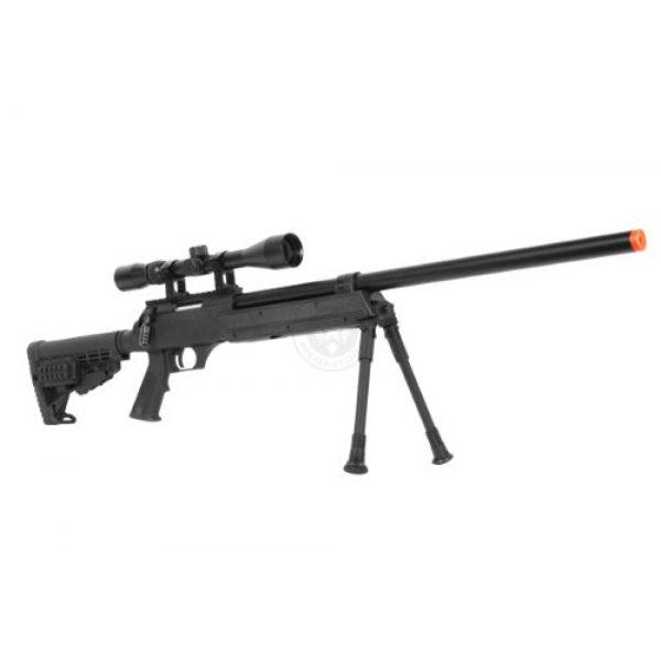 BBTac Airsoft Rifle 2 Wellfire aps sr-2 modular airsoft sniper rifle - scope & bipod - black(Airsoft Gun)