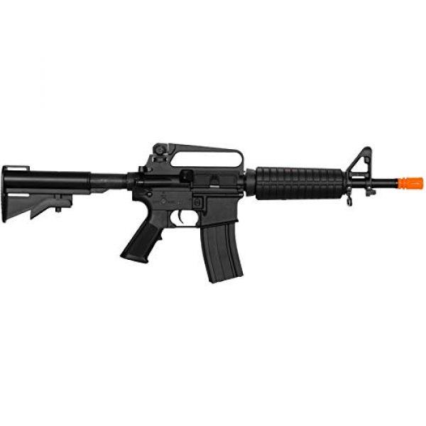 Lancer Tactical Airsoft Rifle 2 Lancer Tactical LT-01C Airsoft M4 Commando AEG Rifle Black