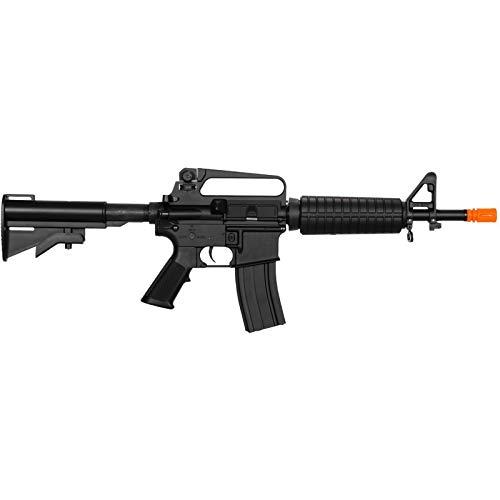 Lancer Tactical  2 Lancer Tactical LT-01C Airsoft M4 Commando AEG Rifle Black