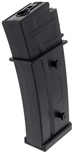 SportPro  3 SportPro Army Force 470 Round Polymer High Capacity Magazine for AEG G36 Airsoft - Black