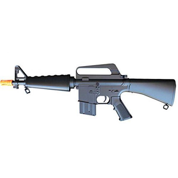A&N Airsoft Rifle 2 A&N Limited Edition M16 Mini Airsoft Spring Rifle Gun Set of 2 Airsoft Rifle with 6mm 2000 Bulldog BB Pellets