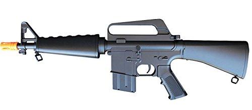 A&N  2 A&N Limited Edition M16 Mini Airsoft Spring Rifle Gun Set of 2 Airsoft Rifle with 6mm 2000 Bulldog BB Pellets