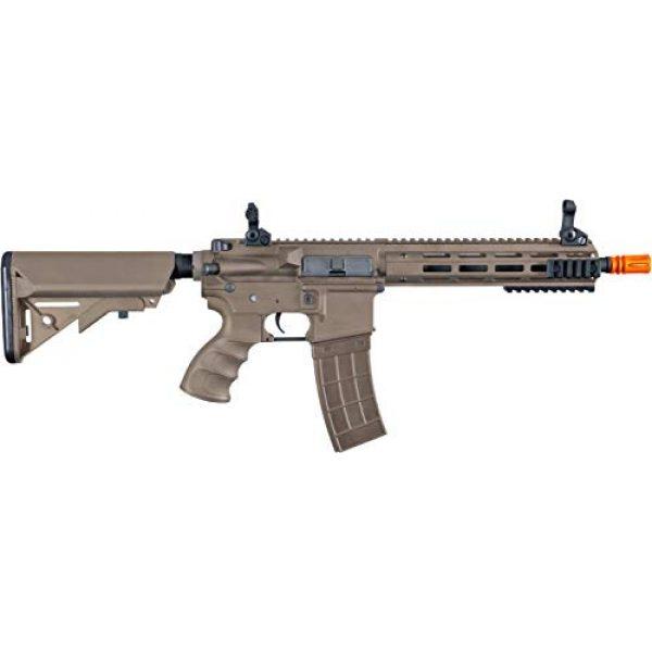 Tippmann Airsoft Airsoft Rifle 1 Tippmann Tactical Recon AEG CQB 9.5in Airsoft Rifle Tan