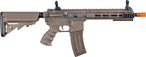 Tippmann Airsoft  1 Tippmann Tactical Recon AEG CQB 9.5in Airsoft Rifle Tan