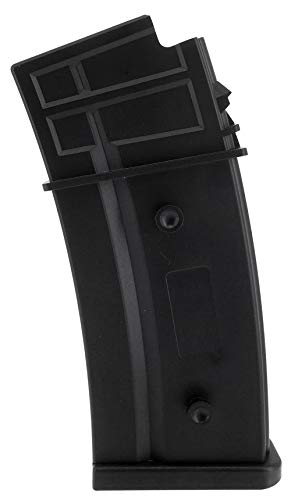 SportPro  1 SportPro Army Force 150 Round Polymer Medium Capacity Magazine for AEG G36 Airsoft - Black