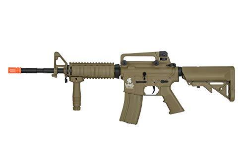 Lancer Tactical  1 Lancer Tactical Gen 2 M4 RIS LT-04T Airsoft Gun AEG Rifle Dark Earth