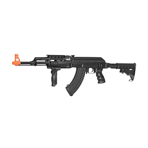 Lancer Tactical  1 Lancer Tactical Semi and Full Auto Electric Airsoft Rifle with Adjustable Stock LT-16E