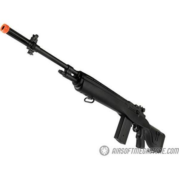 "Lancer Tactical Airsoft Rifle 5 Lancer Tactical LT-732 DMR Stock 45"" M14 SOCOM Airsoft AEG Rifle Black"