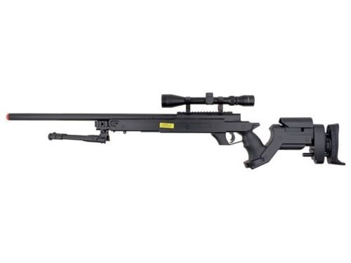 Well  2 Well awn aps2 airsoft sniper rifle bi-pod scope 3