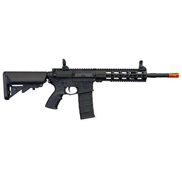 """Tippmann Airsoft Airsoft Rifle 4 Tippmann Commando 14.5"""" 6mm AEG Carbine (Battery & Charger) - Black"""