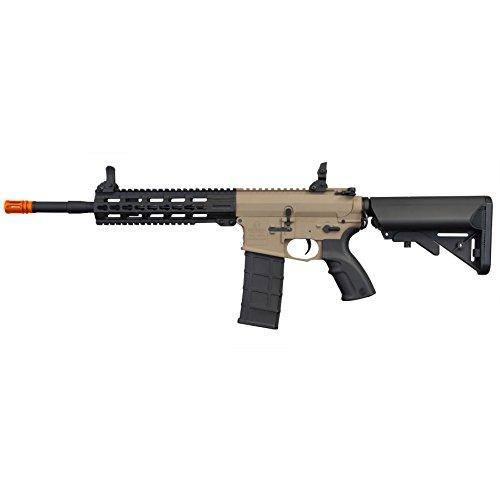 Tippmann Airsoft  3 Tippmann Tactical Commando AEG Carbine 14.5in Airsoft Rifle Tan