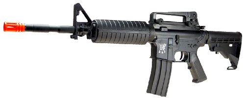 SRC  2 src aeg-m4a1 semi/full auto nimah/charger included-metal gb/blk(Airsoft Gun)